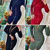 Модное платье, воротник-стойка спереди молния, трикотаж мелкая машинная вязка. Размер:С,М. Разные цвета.(0806), фото 10