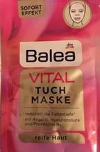 Тканинна відновлююча  маска Balea Vital Tuchmaske