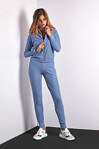 Спортивный костюм голубого цвета (Код BR-SK100-01 Голубой)