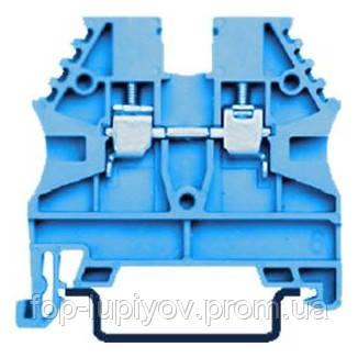 Зажим наборный ЗНИ-6мм2 (JXB50А) синий, ІЕК