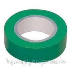 Изолента 0,18х19мм, зеленая 20м, ІЕК