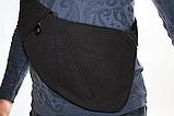 Сумка-мессенджер через плечо 2Life Crossbody 3 Темно-серый (n-411), фото 6