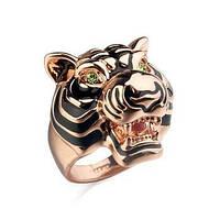 """Кольцо женское """"Голова Тигра"""""""