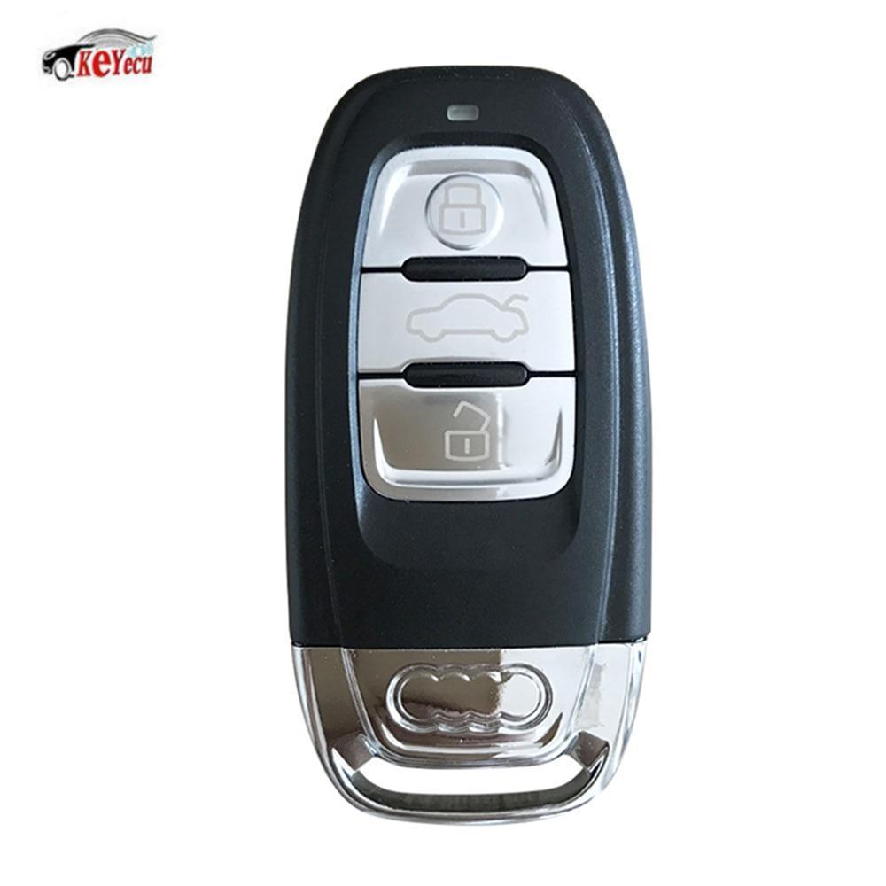 Ключ с платой 433Mhz Audi A1,A3,A4,A5,A6,A6 ALLROAD QUATTRO,A7,A8,Q2,Q3,Q5,Q7,Q8,R8,RS Q3,RS3,RS4,RS5