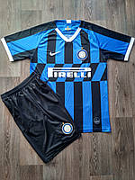Футбольная форма Интер сезон 2019-2020 основная черно-синяя, фото 1