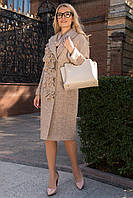 Шикарное шерстяное брендовое пальто Фентези 6368, фото 1