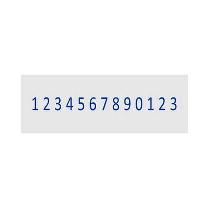 Мини-нумератор 3мм, 13-ти разрядный, Shiny S-313, фото 2