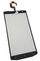 Сенсорный экран (тачскрин) для телефона Oukitel K10000, черный