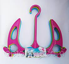 Вешалки сушилки для обуви пластиковые цветные 10 шт