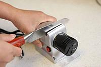 Электрическая Точилка для ножей KNIFE SHARPER, Электроточилка для ножей, Ножеточка, Точилка для ножей и ножниц
