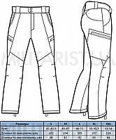 M-Tac брюки Soft Shell Winter Black // РАЗМЕР УТОЧНЯЙТЕ, фото 10
