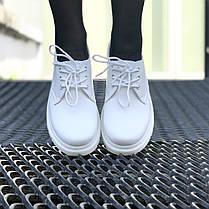 Мужские ботинки Dr.Martens 1461 Mono White, фото 3