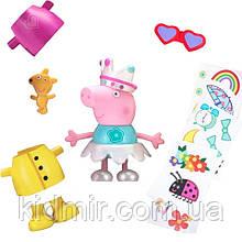 Свинка Пеппа Игровой набор Музыкальная Пеппа Модница со звуком Peppa Figurines  96642