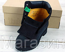 Женские зимние ботинки Timberland Black 2020 Тимберленды БЕЗ МЕХА Тимбы черные, фото 3