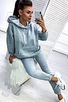 Спортивный костюм (брюки и кофта, светло-серый, ткань - трёхнитка на меху) Размер S, M, L (розница и опт)