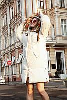 Зимняя женская куртка с капюшоном М, Л, ХЛ