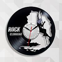 Часы для скалолаза Виниловая пластина Часы в магазин Кварцевый механизм 300 мм
