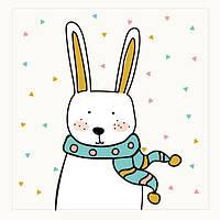 Тканевая панель для пришивания Кролик