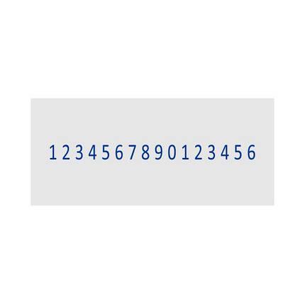 Нумератор металевий 5мм, 16-ти разрядный, Shiny H-6416, фото 2
