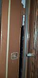 Входная дверь полуторная модель П1 124 vinorit-02 КОВКА, фото 3