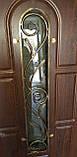 Входная дверь полуторная модель П1 124 vinorit-02 КОВКА, фото 5