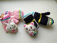 Детские перчатки\варежки  Мишки