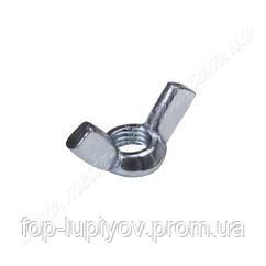 Барашковая гайка М10 DIN 315 ЦБ