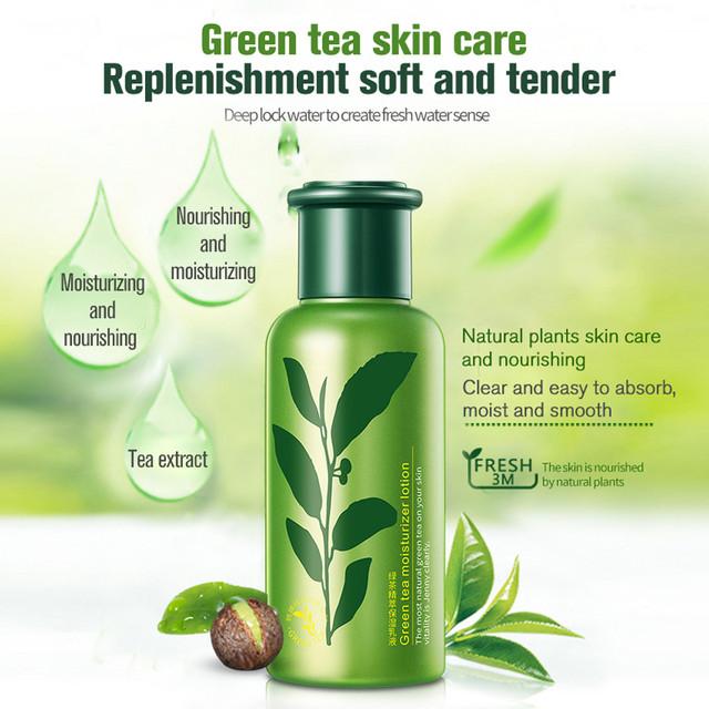 ROREC Green Tea Moisturizer Lotion