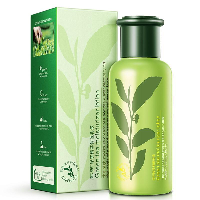 Увлажняющий лосьон с экстрактом зелёного чая ROREC Green Tea Moisturizer Lotion