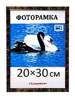 Фоторамка пластиковая 20х30, рамка для фото 1611-23