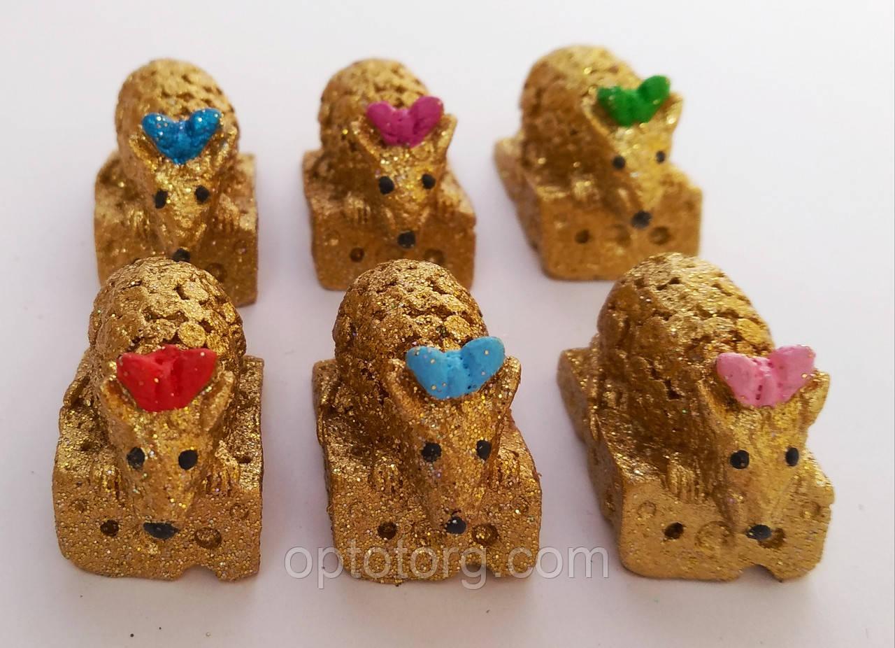 Статуэтки сувениры Мышка малютка 2*3*1,5 см