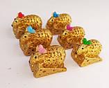 Статуэтки сувениры Мышка малютка 2*3*1,5 см, фото 2