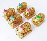 Статуэтки сувениры Мышка малютка 2*3*1,5 см, фото 3