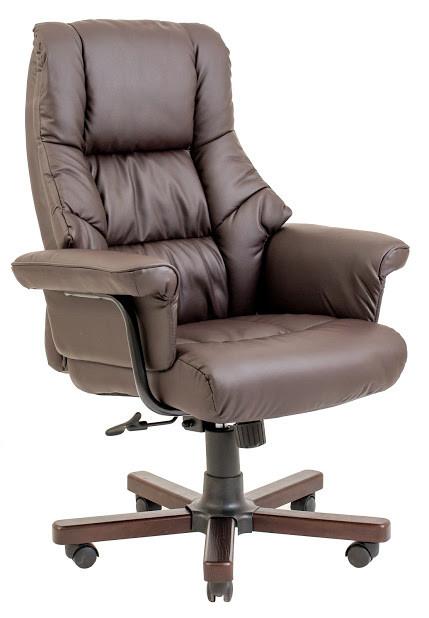 Компьютерное Кресло Конгресс (вуд) коричневое