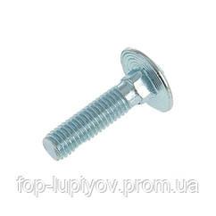 Болт пкрг M10х 120 DIN 603 4.8 ЦБ
