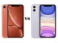 Сравнение Apple iPhone XR vs iPhone 11