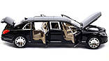 ✅Коллекционная металлическая машинка Mercedes Benz Maybach «АВТОПРОМ», 7686, фото 3