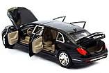 ✅Коллекционная металлическая машинка Mercedes Benz Maybach «АВТОПРОМ», 7686, фото 5