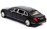 ✅Коллекционная металлическая машинка Mercedes Benz Maybach «АВТОПРОМ», 7686, фото 7
