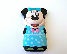 Мини Мобильный Телефон Mickey Mouse (Микки Маус) BLUE (Power Bank встроенный)