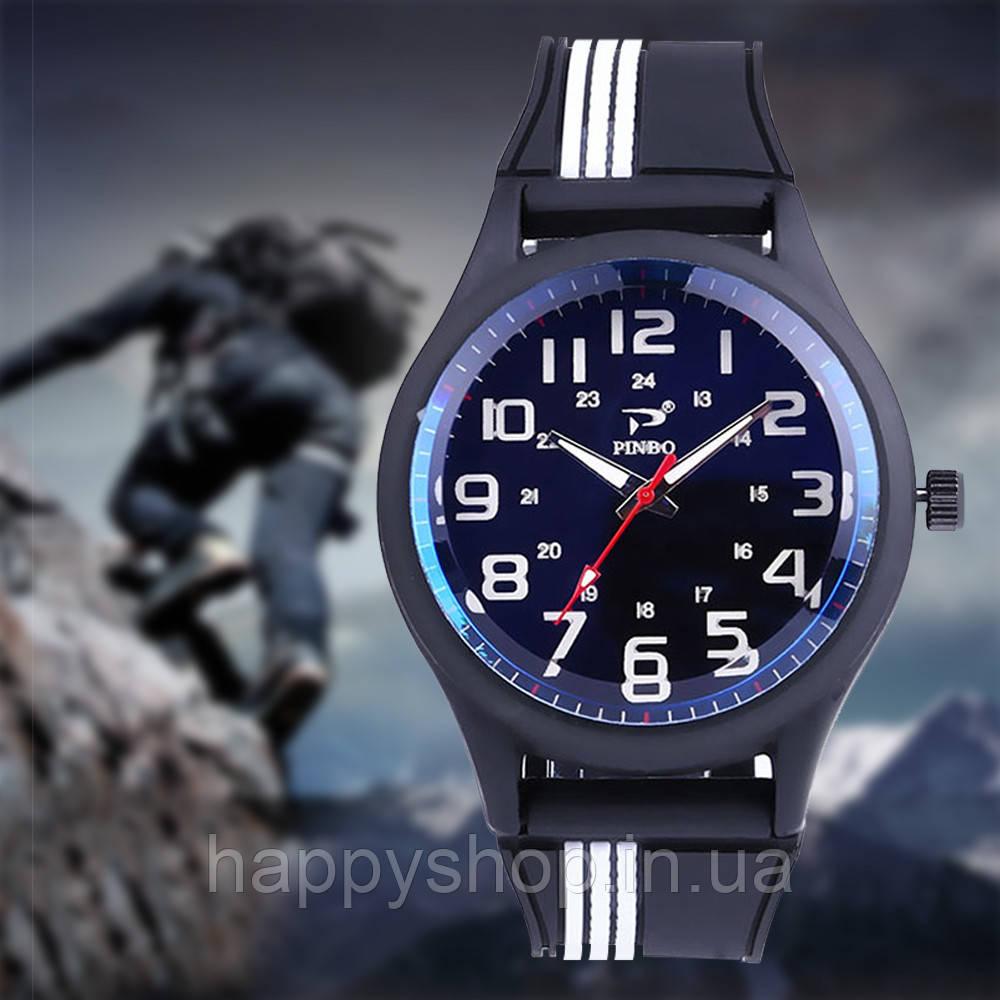 Мужские наручные часы Pinbo (White/Black)