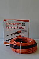 Одножильный нагревательный кабель Ratey 0,82 Квт