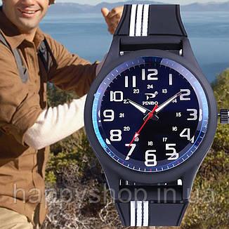 Мужские наручные часы Pinbo (White/Black), фото 2