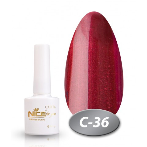 Гель-лак Nice for you Professional 8,5 ml №С36