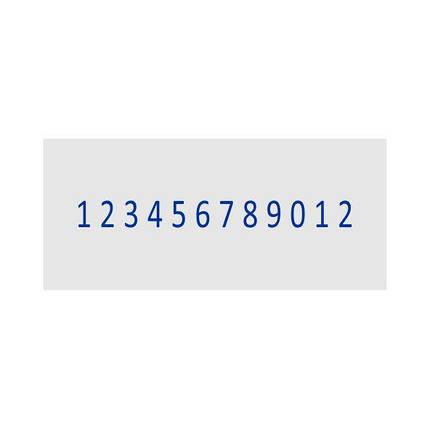 Нумератор стрічковий 3мм, 12-ти розрядний, Shiny N-512, фото 2