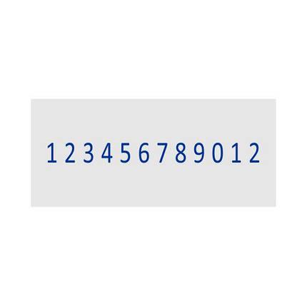 Нумератор стрічковий 4мм, 12-ти розрядний, Shiny N-412, фото 2