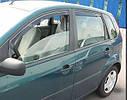 Ветровики вставные для FORD FIESTA 2008->, фото 2