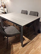 Стіл в сучасному стилі Ріміні-4 (2207-4) Exm, сірий