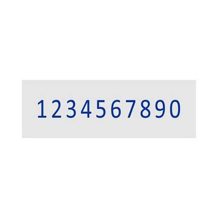 Нумератор стрічковий 7мм, 10-ти розрядний, Shiny N-210, фото 2