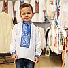 Вышивка для мальчика с классическим орнаментом, фото 4